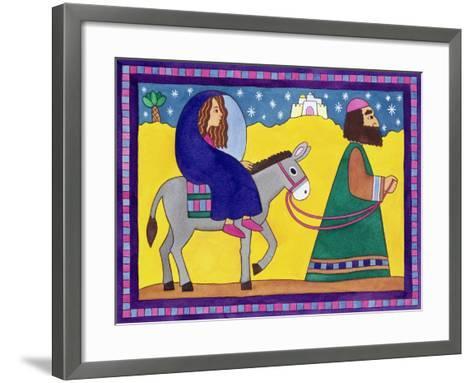 The Road to Bethlehem-Cathy Baxter-Framed Art Print