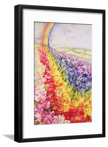 Primrose Rainbow-Joan Thewsey-Framed Art Print