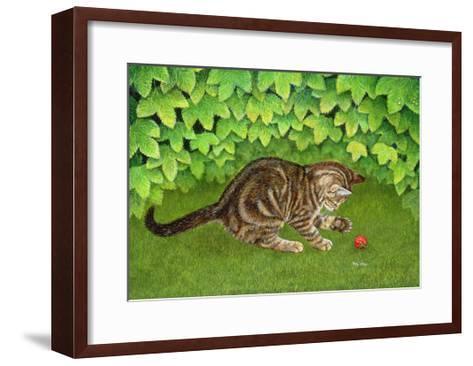 The Strawberry-Kitten, 1996-Ditz-Framed Art Print