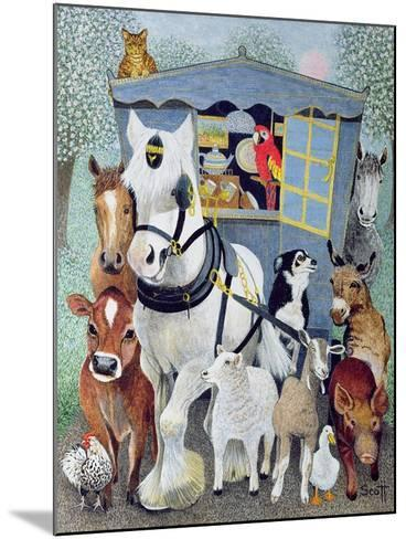 Uncle Tom Cobbley and All-Pat Scott-Mounted Giclee Print