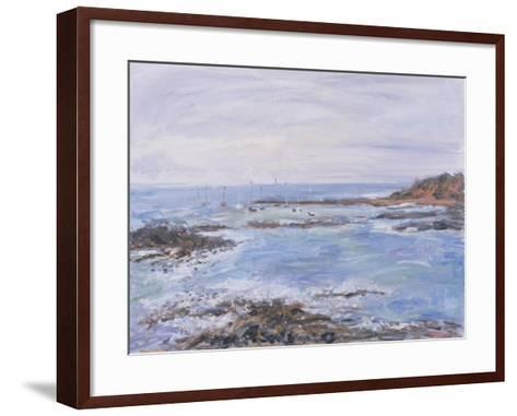 Sailing Off the Scilly Isles, 1997-Patricia Espir-Framed Art Print