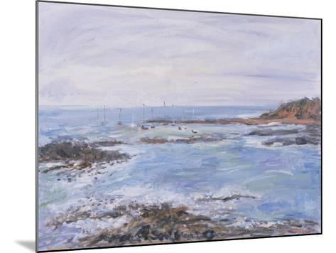 Sailing Off the Scilly Isles, 1997-Patricia Espir-Mounted Giclee Print