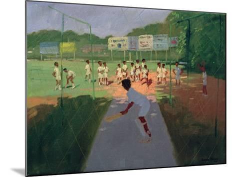 Cricket, Sri Lanka-Andrew Macara-Mounted Giclee Print