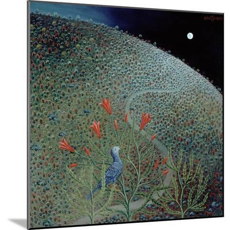 Blue Bird of Happiness, 1995-Tamas Galambos-Mounted Giclee Print