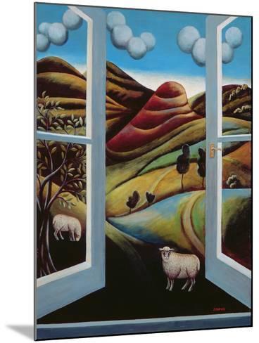 Highland View-Jerzy Marek-Mounted Giclee Print
