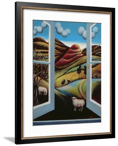 Highland View-Jerzy Marek-Framed Art Print