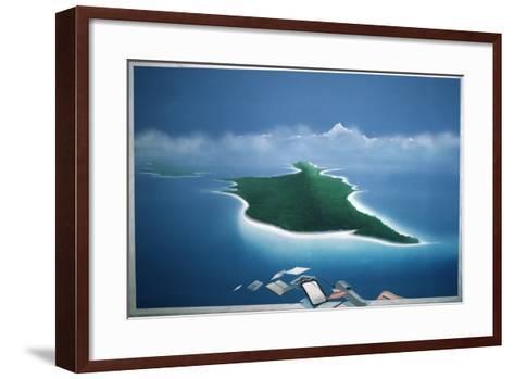 Travel Business V-Lincoln Seligman-Framed Art Print