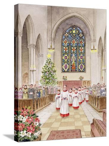 Carol Service-Stanley Cooke-Stretched Canvas Print