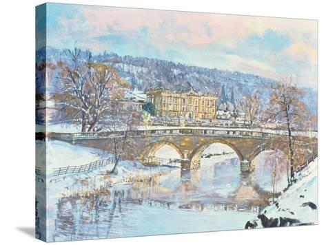 Chatsworth - Solitude, 1995-Martin Decent-Stretched Canvas Print