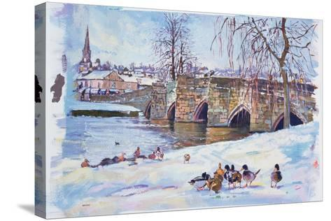 Bakewell Bridge, 1998-Martin Decent-Stretched Canvas Print