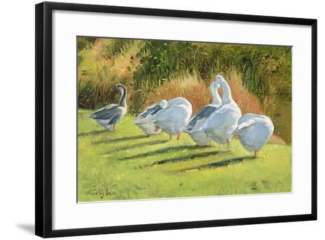Moat Edge, Bedfield-Timothy Easton-Framed Art Print