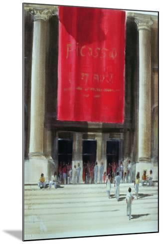 Entrance to the Metropolitan Museum, New York City, 1990-Lincoln Seligman-Mounted Giclee Print