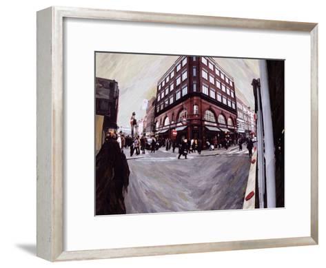 Turn Left for Neal Street, 1998-Ellen Golla-Framed Art Print