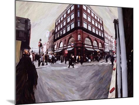Turn Left for Neal Street, 1998-Ellen Golla-Mounted Giclee Print
