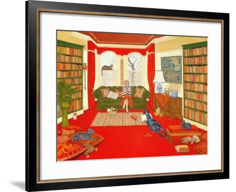 A Lazy Afternoon-Ditz-Framed Art Print