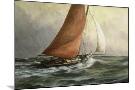 Bawley in the Estuary-Vic Trevett-Mounted Giclee Print