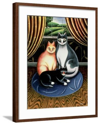 On the Mat-Jerzy Marek-Framed Art Print