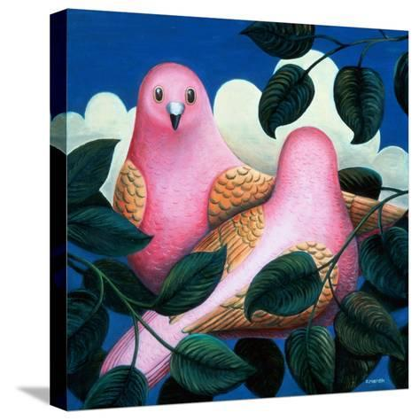 In the Pink-Jerzy Marek-Stretched Canvas Print