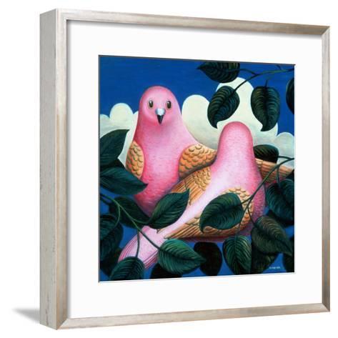 In the Pink-Jerzy Marek-Framed Art Print