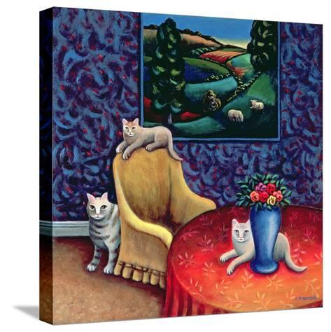 The Sitting Room-Jerzy Marek-Stretched Canvas Print