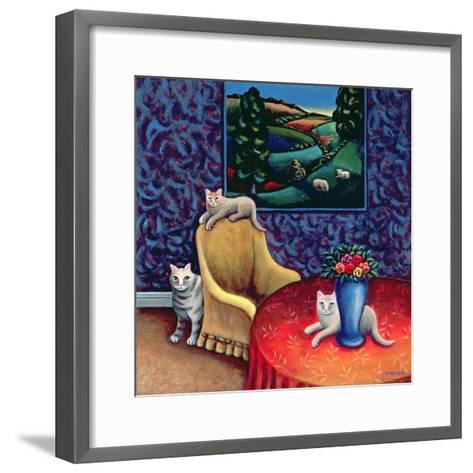 The Sitting Room-Jerzy Marek-Framed Art Print