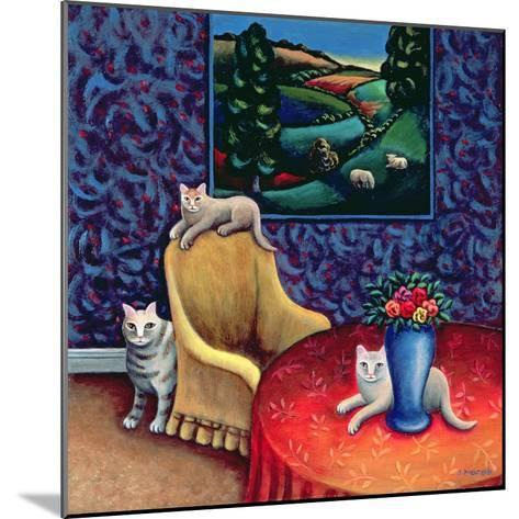 The Sitting Room-Jerzy Marek-Mounted Giclee Print