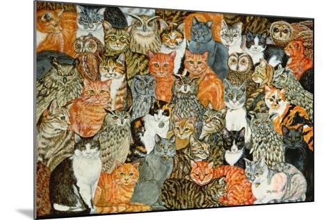 The Owls and the Pussycats-Ditz-Mounted Giclee Print