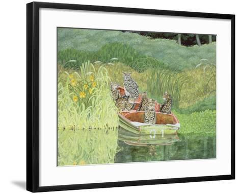 The Owl and the Pussycats-Ditz-Framed Art Print