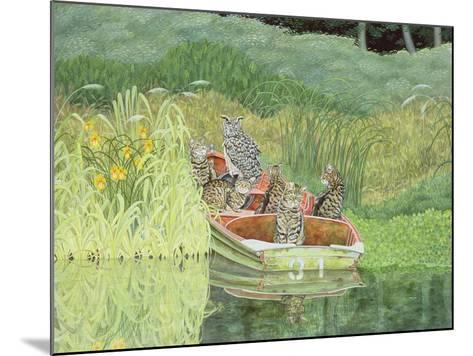 The Owl and the Pussycats-Ditz-Mounted Giclee Print