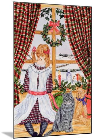 Christmas Morning at the Window-Catherine Bradbury-Mounted Giclee Print