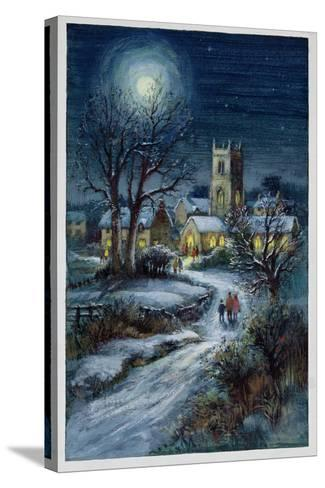 The Midnight Service-Stanley Cooke-Stretched Canvas Print