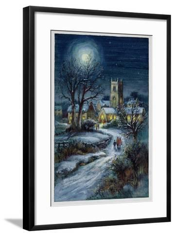 The Midnight Service-Stanley Cooke-Framed Art Print