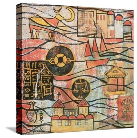 The Great Years II-Sabira Manek-Stretched Canvas Print