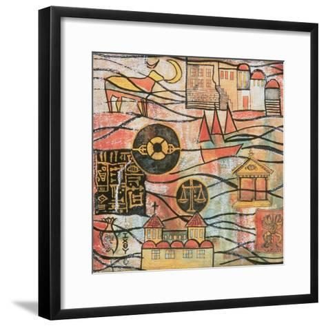 The Great Years II-Sabira Manek-Framed Art Print