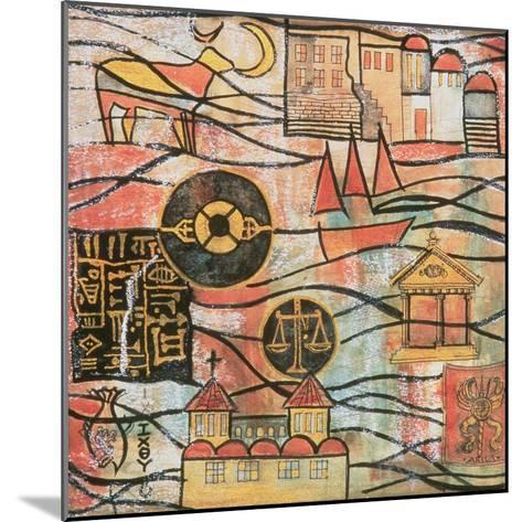 The Great Years II-Sabira Manek-Mounted Giclee Print