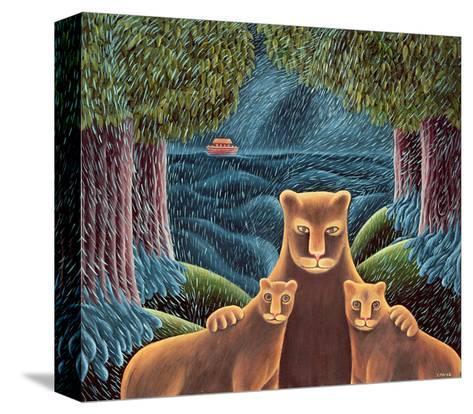 Left Behind-Jerzy Marek-Stretched Canvas Print