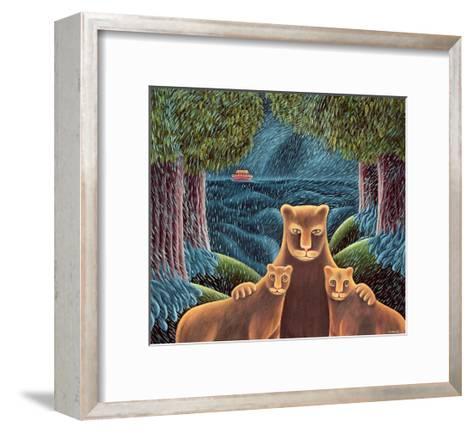 Left Behind-Jerzy Marek-Framed Art Print