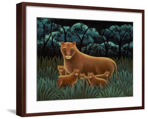 On Guard-Jerzy Marek-Framed Art Print