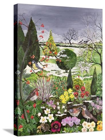 Winter from the Four Seasons (One of a Set of Four)-Hilary Jones-Stretched Canvas Print