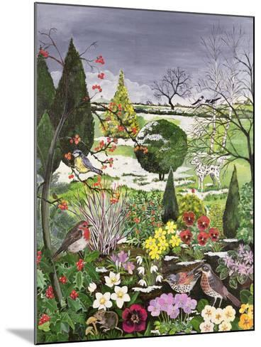 Winter from the Four Seasons (One of a Set of Four)-Hilary Jones-Mounted Giclee Print