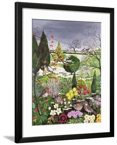 Winter from the Four Seasons (One of a Set of Four)-Hilary Jones-Framed Art Print