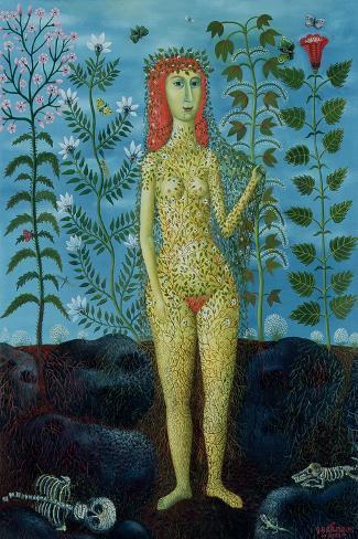 Eve, 1981-Tamas Galambos-Stretched Canvas Print