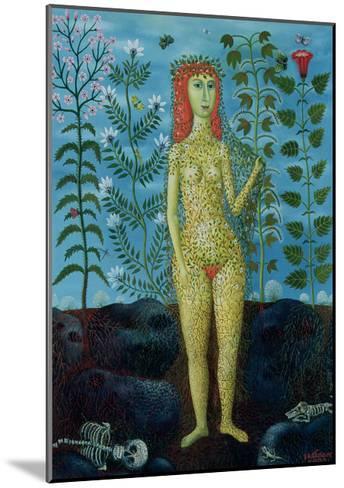 Eve, 1981-Tamas Galambos-Mounted Giclee Print