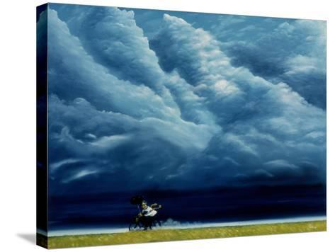 Heaven Can Wait-Stephane Poulin-Stretched Canvas Print