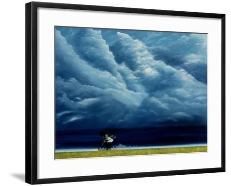 Heaven Can Wait-Stephane Poulin-Framed Art Print