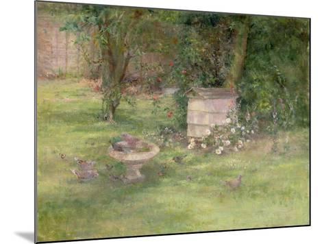 Beehive and Doves-Joyce Haddon-Mounted Giclee Print