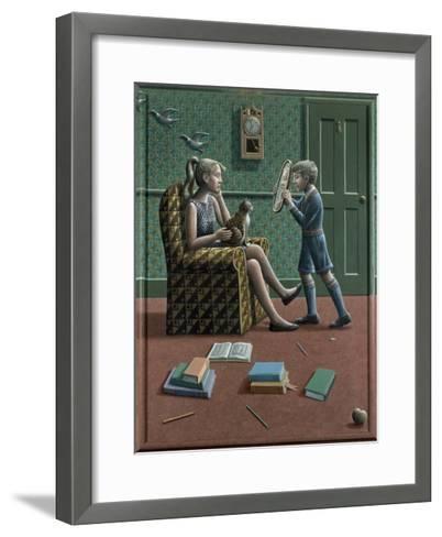 Henrietta and Nathan, 1986-P.J. Crook-Framed Art Print