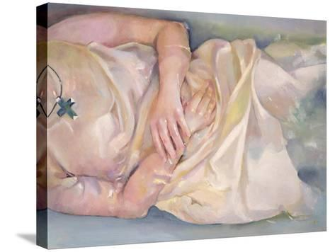 Crossed Hands, 2004-Lucinda Arundell-Stretched Canvas Print