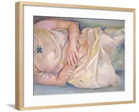 Crossed Hands, 2004-Lucinda Arundell-Framed Art Print