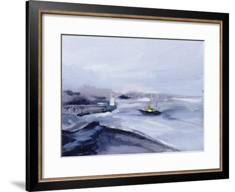 Newlyn, Cornwall, 2005-Sophia Elliot-Framed Art Print